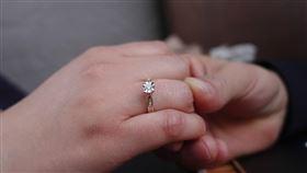 她向女友求婚,卻被對方踢下水。(圖/翻攝自/pixabay)
