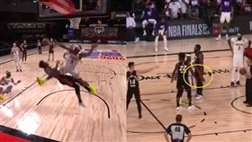 NBA/士官長輸了!軟豆更「吉巴」 NBA,季後賽,邁阿密熱火,Jimmy Butler,士官長,洛杉磯湖人,Rajon Rondo 翻攝自YouTube