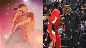 大明星當球僮!曾獲柯比贈簽名球 嘻哈,饒舌,Travis Scott,NBA,休士頓火箭,球僮,Kobe Bryant 翻攝自Travis Scott IG