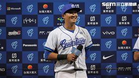 ▲富邦悍將外野手林哲瑄敲出逆轉3分砲獲選單場MVP。(圖/記者劉彥池攝影)
