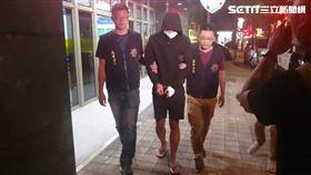 警方訊後將朱嫌移送台北地檢署偵辦。(圖/翻攝畫面)