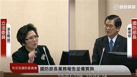 溫玉霞 嚴德發 圖/翻攝自國會頻道議事轉播
