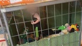 當狗養?600隻動物關家中 1歲童「住鐵籠」隔壁躺蟒蛇(圖/翻攝自Henry County Sheriff's Office)