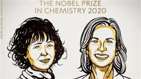 ▲諾貝爾化學獎得主。(圖/翻攝NobelPrize Twitter)