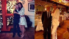 大女兒65歲…「F1前掌門人」89歲當爸!兒子孫子同歲▲Bernie Eccleston、Fabiana Flosi。(圖/翻攝自Fabiana Flosi IG)
