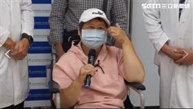 乳癌病人如突然無預兆雙側下肢麻痛難以行走 脊椎腫瘤轉移(圖/安南醫院提供)