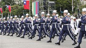中華民國109年國慶大會預演。(圖/記者林聖凱攝影)