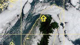 衛星雲圖,鄭明典,層雲邊界,新竹,照片