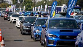 ▲Subaru美國遊行打破金氏世界紀錄(圖/Subaru提供)