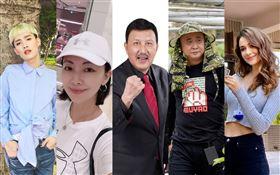 台灣藝人/祝賀雙十國慶。臉書