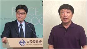 陸委會副主委邱垂正,胡錫進,組合圖
