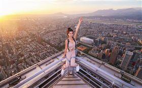 台北101 Skyline天際線460。圖片授權:IG @giratinanala。(圖/KLOOK提供)