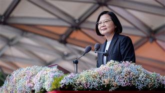 中國武嚇台灣…小英國慶演說登德媒