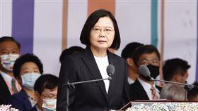 總統蔡英文、國慶大會(圖/記者林聖凱攝影)