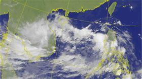 南卡颱風將形成!未來路徑曝光 雨彈襲擊「3地區」(圖/翻攝自中央氣象局)