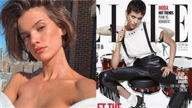 巴西,女模,雜誌,精神,貧民窟,裸身,遊民,模特兒