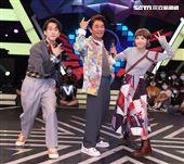 「綜藝大熱門」與主持人吳宗憲、陳漢典、Lulu。(記者邱榮