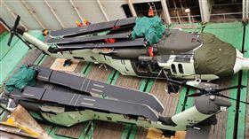 黑鷹直升機運抵高雄港(圖/內政部空中勤務總隊提供)