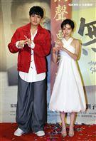 「無聲」男女主角劉子銓、陳妍霏。(記者邱榮吉/攝影)