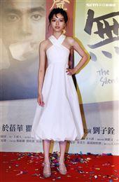 「無聲」女主角陳妍霏。(記者邱榮吉/攝影)
