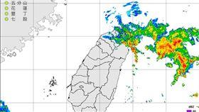 氣溫,溫度,天氣,氣象,颱風,豪雨特報。(圖/翻攝自報天氣 - 中央氣象局臉書)