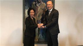 駐荷蘭代表陳欣新。(圖/翻攝自台灣駐荷蘭代表處臉書)