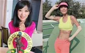香港女星米雪65歲。微博