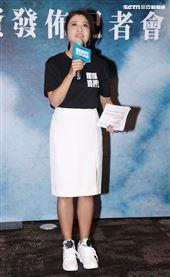 林楚茵(立法委員)出席國際橋牌社第二季投資發布記者會。(記者邱榮吉/攝影)