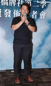 陳柏惟(立法委員)出席國際橋牌社第二季投資發布記者會。(記者邱榮吉/攝影)