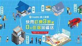 AsiaYo舉辦2020線上旅展。(圖/AsiaYo提供)
