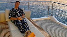 ▲C羅(Cristiano Ronaldo)確診武漢肺炎但無症狀。(資料圖/翻攝自C羅IG)