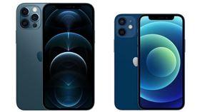 太平洋藍,iPhone 12,特殊色,玫瑰金(翻攝自 台灣蘋果官網)