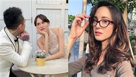 台灣、奧地利混血女模白彌兒(Mia)。(圖/翻攝自臉書)