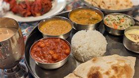 印度執政黨發言人巴加推薦小英印度餐廳(圖/翻攝自蔡英文推特、印巴推特)
