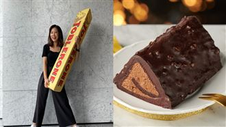 呼叫甜點控!瑞士三角巧克力變甜點了
