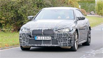 BMW純電性能車 i4 M首度曝光