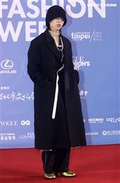 林宥嘉出席「2020臺北時裝週」壓軸時尚大秀。(記者邱榮吉/攝影)