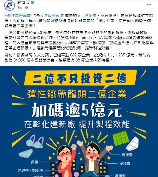 獨/台灣之光!國家隊「二億」助愛迪達產口罩 歐美搶光了