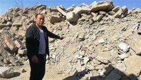 中國,內蒙古,地窖,昏倒(圖/翻攝自微博)