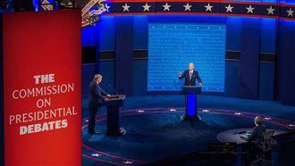 川普拜登最終辯論 收視縮水14%