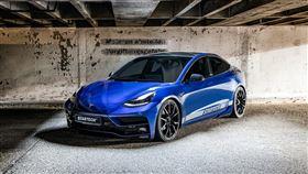 ▲STARTECH推出Model 3專用車體套件。(圖/翻攝STARTECH網站)
