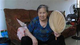 ▲田龍玉老太太生性樂觀沒壓力。(圖/翻攝自百度百科)