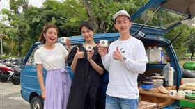 曾沛慈首次主持美食旅遊節目。(圖/TVBS提供)