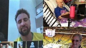 NBA/暖心!湯神滿足癌末奶奶心願 NBA,金州勇士,Klay Thompson,球迷,癌末,奶奶,facetime 翻攝自ESPN官方臉書粉絲團