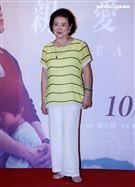 陳淑芳出席「親愛的房客」首映會。(記者邱榮吉/攝影)