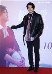 姚淳耀出席「親愛的房客」首映會。(記者邱榮吉/攝影)
