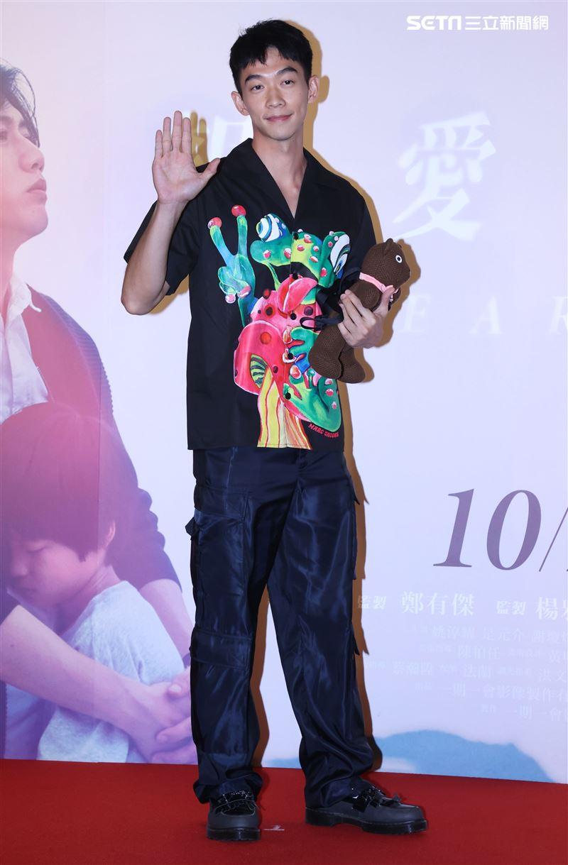 王可元出席「親愛的房客」首映會。(記者邱榮吉/攝影)