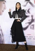 「天巡者」演員曾莞婷出席首映會。(記者邱榮吉/攝影)