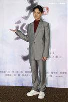 「天巡者」演員楊銘威出席首映會。(記者邱榮吉/攝影)