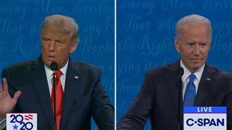 美選辯論最終回後 拜登民調領先川普